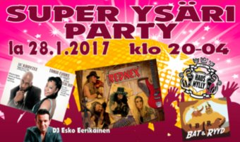 Super Ysäri Party la 28.1.: Rednex jne.