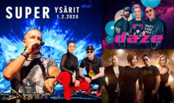 La  1.2. Super Ysärit: DJ Sash!, Daze, Maxx, Aikakone, DJ Pertsa