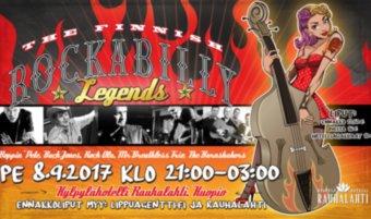 The Finnish Rockabilly Legends pe 8.9.