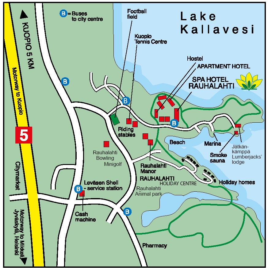 Spa Hotel Rauhalahti Kuopio Finnland Rauhalahti Resort